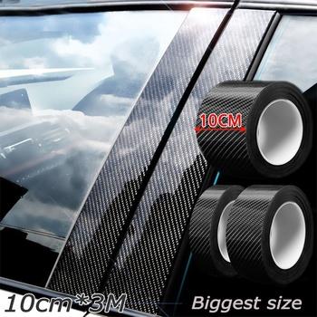 Nano Carbon Fiber Car Sticker pasta do DIY listwa ochronna Auto próg drzwi boczne lustro odporne na zadrapania taśma wodoodporna folia ochronna tanie i dobre opinie CN (pochodzenie) Metalworking NONE GMJJ4515 Typ włókna Nano Carbon Fiber Car Sticker DIY Paste Protector Strip Auto Door Sill