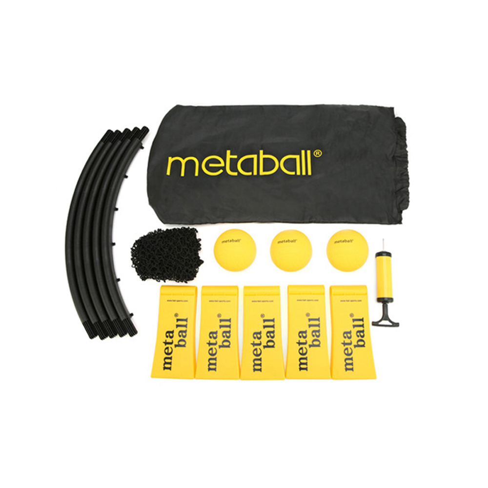 Mini Beach Volleyball Spike Ball Game Set Outdoor Team Sports Lawn Fitness Equipment Net With 3 Balls Mini Spikeball