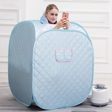 2 Color Portable Steam Sauna Home Sauna Generator Slimming Household Sauna Box Ease Insomnia Stainless Steel Pipe Support HWC