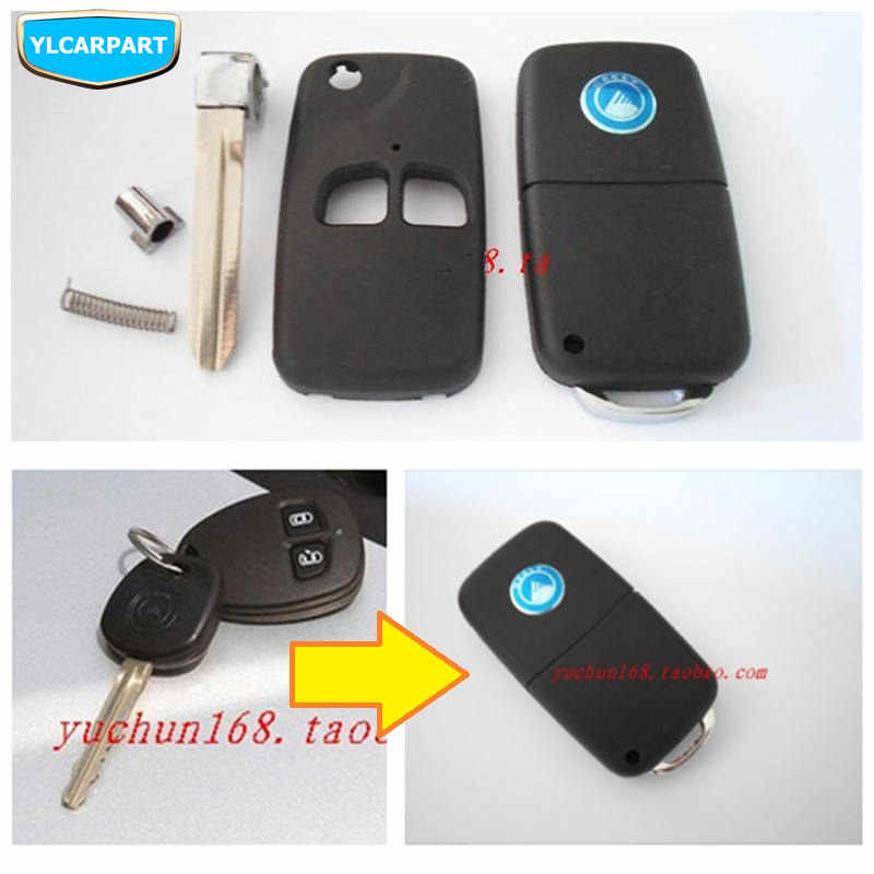 For Geely MK1,MK 1,Cross,Car remote key shell