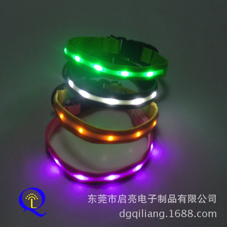 Stall New Product LED Flash Pet Collar Cat Dog Collar High Quality Supply Of Goods-