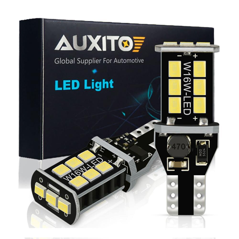 2x w16w t15 lâmpadas led 2835 smd canbus obc livre de erros led backup luz 921 912 w16w lâmpadas led carro reverso lâmpada xenon branco dc12v
