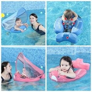 Image 2 - Flotador para pescar para bebés, juguetes de piscina tumbada, bañera para accesorios, entrenador de nado, sombrilla