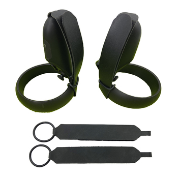 2pcs Non-slip Adjustable Knuckle Straps for Oculus Quest / Rift S VR Headset Touch Controller Handle Grip Accessories 1