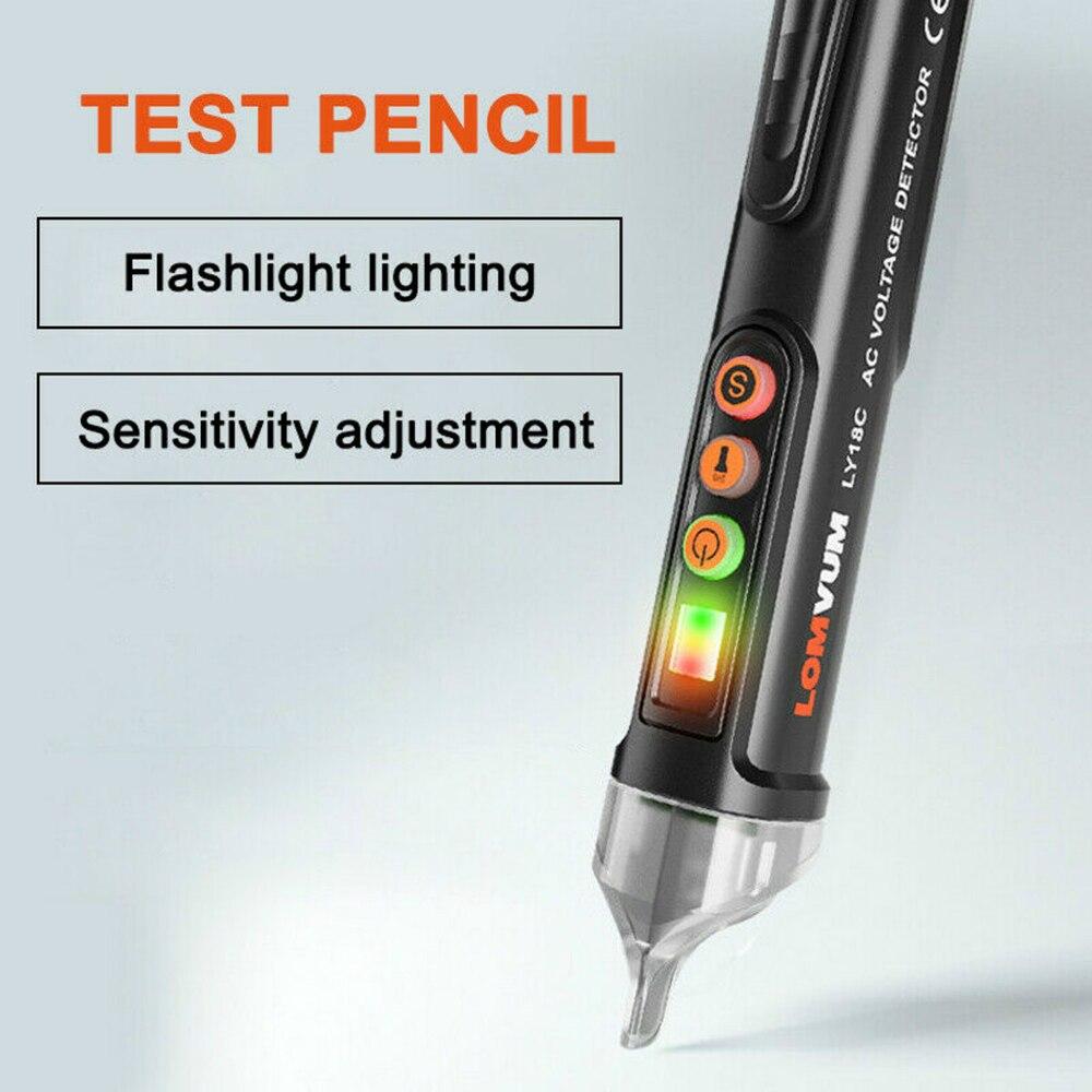 AC/DC Voltage Electric Compact Pen Current Testing Pencil Circuit Breaker Finder 12V/48V-1000V Voltage Sensitivity Detector