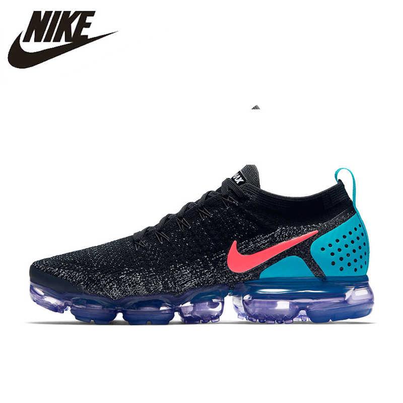 Кроссовки для бега NIKE AIR VAPORMAX FLYKNIT 2, мужские кроссовки 942842-003 40-45, европейские размеры M