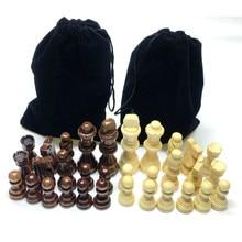 Chess-Pieces Wooden Bottom Velvet Foreign-Trade Hot