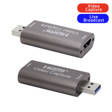 Grabber-Recorder Video-Capture-Card Game USB2.0 Hdmi-Compatible Live-Streaming PS4 4K
