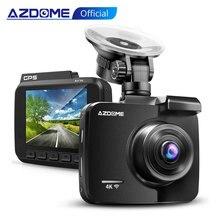Azdome 2160 1080p GS63H車dvr gps 4 18k wifiダッシュカメラデュアルレンズ1080 dvrカメラスーパーナイトビジョンdashcam 24時間駐車モード