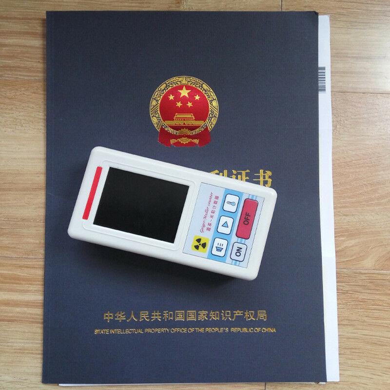 Geiger contador detector de radiação nuclear beta