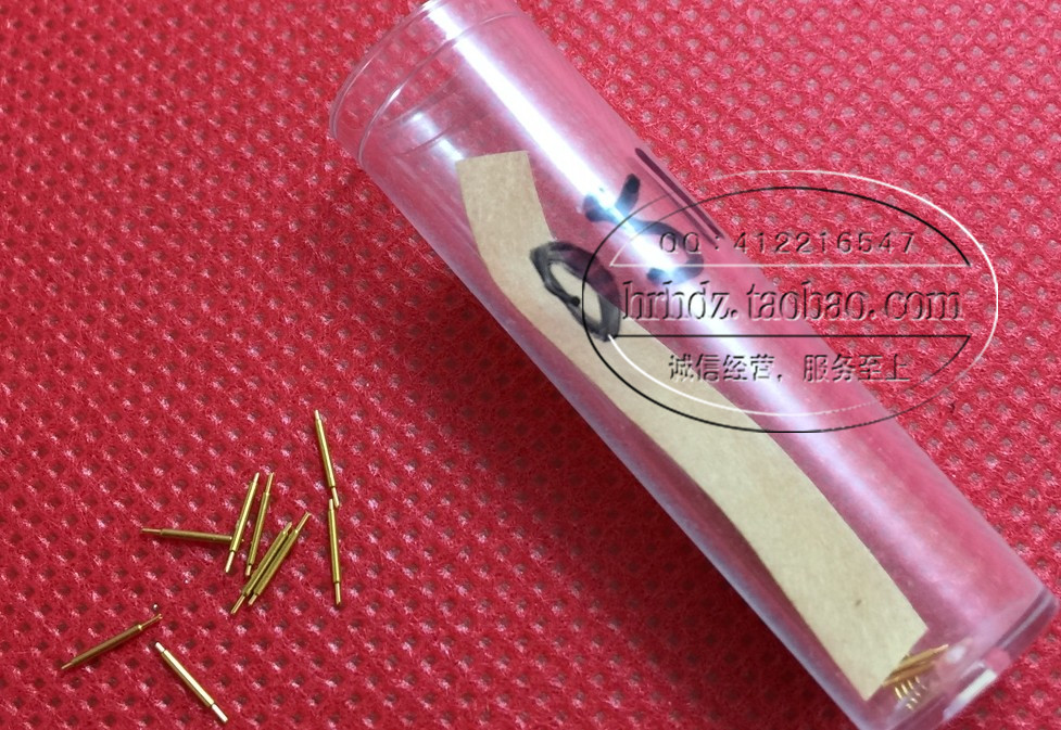 BGA Double-ended Test Probe 051-FB / BB-5.7L Probe Total Length 5.7MM 0.51 Double-ended Needle