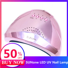 Bunte 48W SUNONE Professionelle LED UV Nagel Lampe für nagel gel polnisch führte Nagel Licht Nagel Trockner UV Lampe EU/Us stecker Neue Ankunft