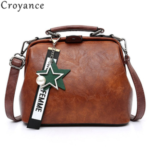 Croyance Women Handbag Leather