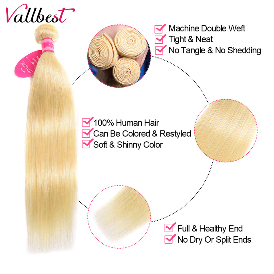 H11e6a7594514449cad08587534be79f7u Vallbest 613 Bundles With Frontal Middle Ratio Brazilian Straight Hair 3 Bundles With Closure Remy Blonde Bundles With Frontal