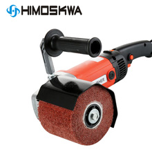 1400w 230V Electric Metal Wire Drawing Machine Portable Polishing Machine for Wooden Stainless Steel Polishing with Grinding