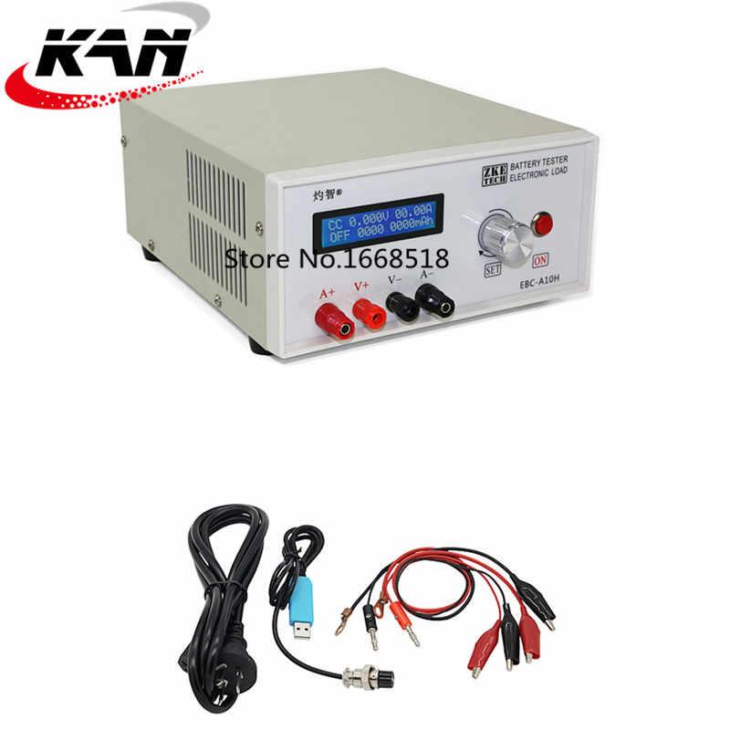 Batterietester Batterie Kapazität Testgerät EBC-A10H Lade Entlade Prüfer mit LCD