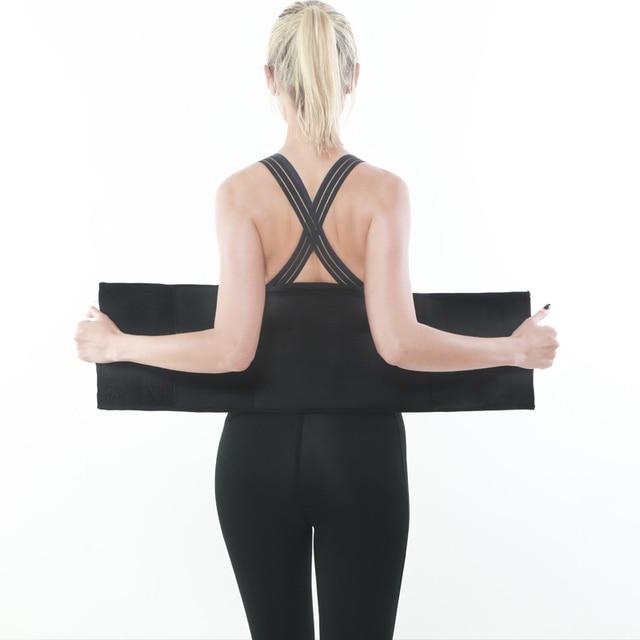 Waist Trainer Thermo Sweat Belt Waist Trimmer Girdle Corset Women Tummy Body Shaper Shapewear Fat Burning Fitness Modeling Strap 1