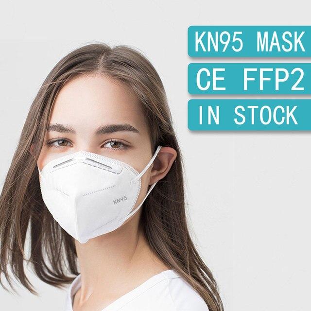 10-200PCS FFP2 Mask Face Mask KN95 masks Protective Mouth maske Anti PM2.5 Safety Dust Mask mascarillas mascherine 2