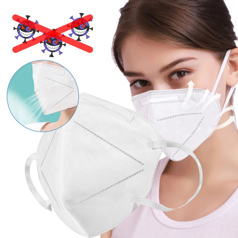 1PC FFP2 Safety Air Filter Mask, Mask Personal Health Anti-pollution Breathing Mask, Equivalent To N95 Or KN94 Or KN95 Hot 1