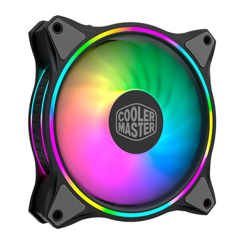 MF140 HALO 140mm Cooling Fan for PC Computer Water Cooling System DC 12V Rgb Fan ARGB Cooler 4-Pin PWM Heatsink Radiator image