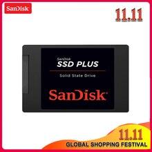 Оригинальный твердотельный накопитель Sandisk SSD PLUS, 120 ГБ, 240 ГБ, SATA 3, 2,5 дюйма, внутренний жесткий диск, жесткий диск, HD SSD, ноутбук, ПК, SSD 480 ГБ, ТБ