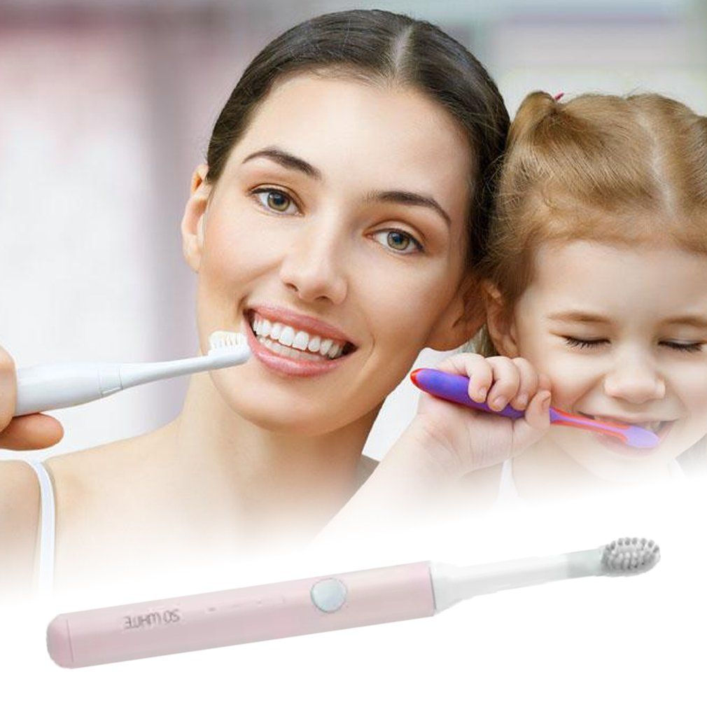 Wireless Sonic Electric Toothbrush Adult Electric Toothbrush Couple Electric Toothbrush Household Charging Automatic Waterproof