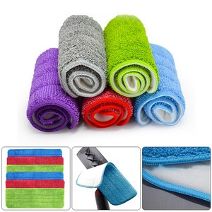 10pcs Replacement Microfiber Washable Spray Mop Dust Household Mop Head Cleaning Pad Clean Replace Cloth Floor Home Clean
