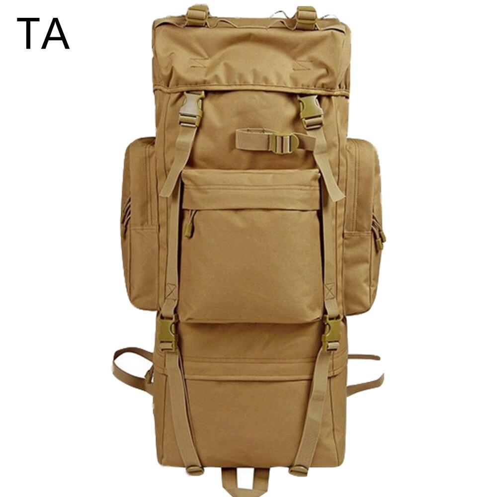 WOHENRED Large Capacity Leather Canvas Backpacks For Men School Bags Vintage Waterproof Daypack High Quality Laptop Backpack Bag - 3