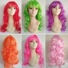 Парик женский реквизит длинные вьющиеся волосы цвет большая