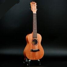 21 Polegada/23 Polegada/26 Polegada concerto ukulele madeira havaiano quatro cordas guitarra mogno madeira presentes de aniversário ukulele
