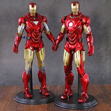 Figurines de collection Iron Man 2 Mark VI MK 6 / Mark IV MK 4, échelle 1/6, modèle de jouet