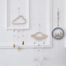 INS, скандинавский декор для детской комнаты, облако, дождь, палатка, игрушка для ребенка, украшение для спальни, баннер, реквизит для фотосъемки, настенные подвесные украшения