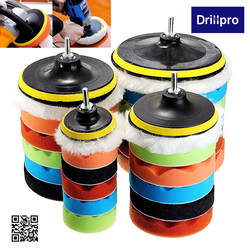 7x 3''5''6''7''Buffing полировальная Подложка для губки ручной инструмент комплект для автомобиля полировальные инструменты соединения полировки