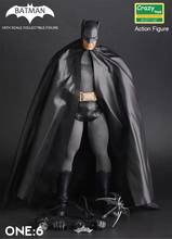 Crazy Toys 1:6 Batman Black Ver. BJD The Dark Knight Bat Man Collectible Action Figure Toys Joints Moveable(China)