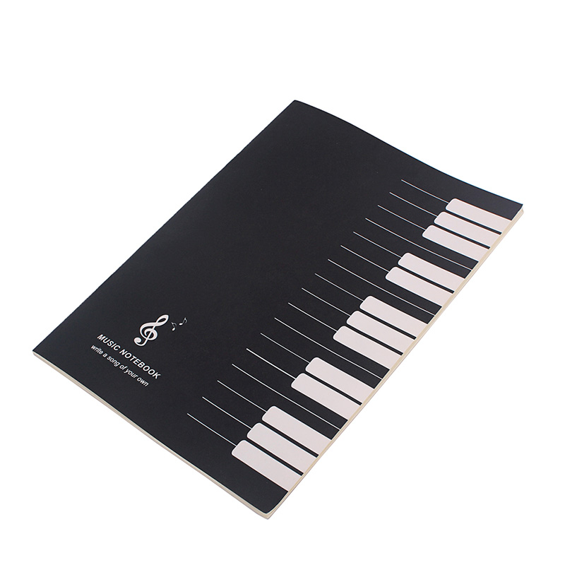 HOT Music Notebook Tab Staff Stave Notes Five Lines Portable Durable Practice Book HV99