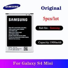 5pcs Original Samsung S4 Mini Battery B500BE 1900mAh For SAMSUNG Galaxy S4 Mini I9190 I9192 I9195 I9198 NFC phone batteria AKKU ночник oem 1 jl jj0067 s4 50 0067jj s4