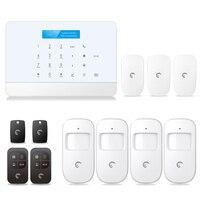 S6 tuya casa inteligente wi fi alarme sistema de segurança 433 mhz alarme acessórios com vida inteligente app