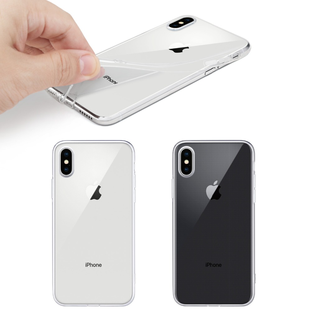 For-iPhone-X-Case-WEFOR-Slim-Clear-Soft-TPU-Cover-Support-Wireless-Charging-for-Apple-5(3)