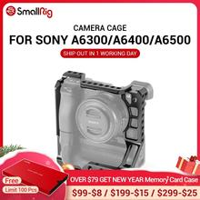 SmallRig A6400 כלוב DSLR מצלמה כלוב עבור Sony A6000/A6300/A6400/A6500 עם Meike MK A6300/A6500 סוללה גריפ 2268