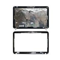 HP 파빌리온 DV6 DV6-6000 용 새 LCD 백 블랙 커버/LCD 전면 베젤 665288-001 640417-001