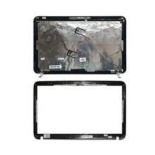 HP 파빌리온 DV6 DV6 6000 용 새 LCD 백 블랙 커버/LCD 전면 베젤 665288 001 640417 001