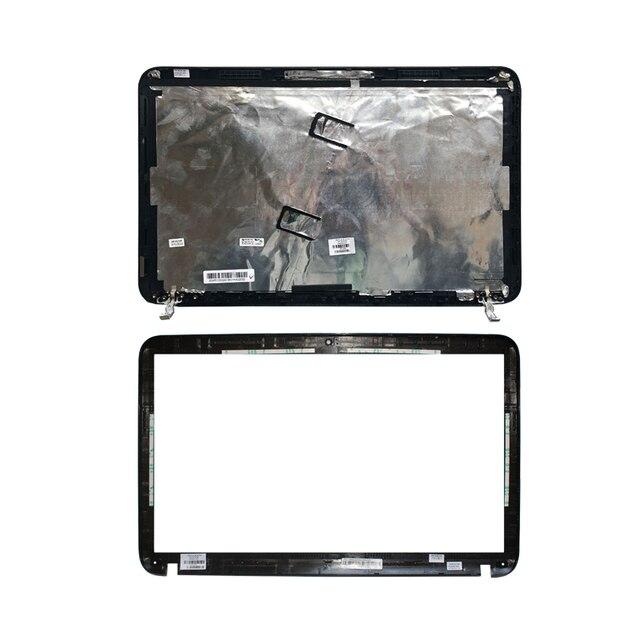 NEW LCD back black cover/LCD front bezel For HP Pavilion DV6 DV6 6000 665288 001 640417 001