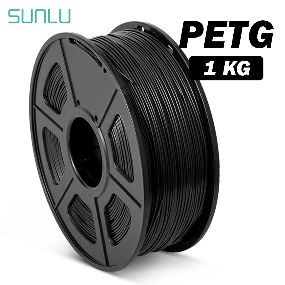 SUNLU Translucence PETG Filament For 3D Printer 1 75MM Good Toughness PETG Filament 1KG With Spool Lampshade Consumable Material