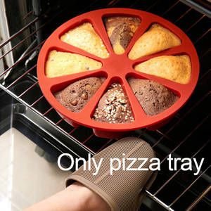 Cake-Mold Bakeware Muffin Ice-Tray Non-Stick Silicone Pizza-Baking-Mould Sugarcraft Pudding