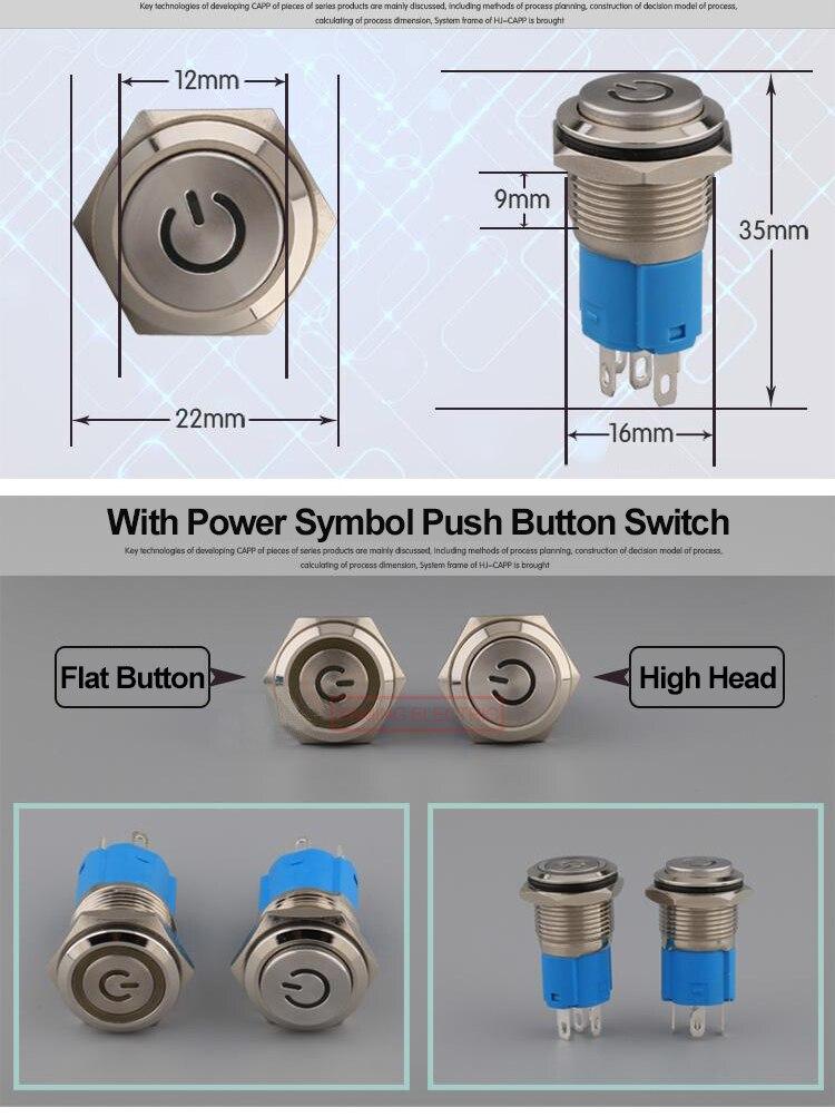 Lista de pedidos do interruptor giratório
