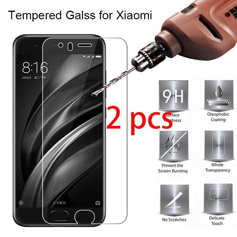 2pcs 9H Hard Toughed Front Film Screen Protector for Xiaomi Mi Mix 3 2S 2 Max 3 2 Tempered Protective Glass On Xiomi Mi Note 3 2