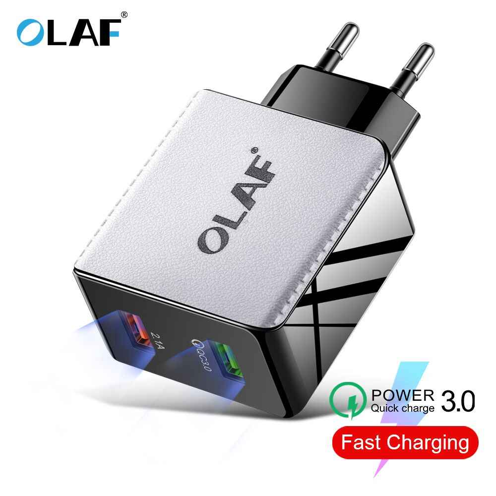 48W Quick Charge 4.0 3.0 USB Charger QC3.0 Fast Charger Travel Wall ชาร์จโทรศัพท์มือถือสำหรับ iPhone Samsung xiaomi Huawei