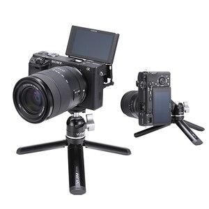 Image 1 - Mini tablet tripé de metal com ballhead ajustável para osmo móvel 3 cardan acessórios iphone andriod dslr câmera tripé kit