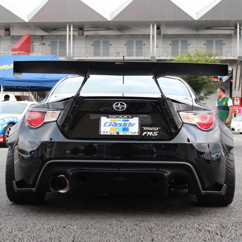 Car-styling Unpainted Black FRP / <font><b>Carbon</b></font> Fiber Material G Style GT 86 BRZ Rear Trunk Wing Spoiler for Subaru BRZ <font><b>Toyota</b></font> 86 <font><b>GT86</b></font> image