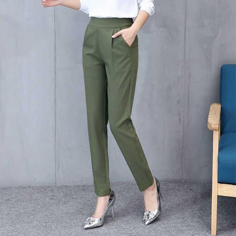 Kadın sonbahar pantolon ayak bileği pantolon kadın ince örtü rahat pantolon rahat ve pürüzsüz pantolon GDD99